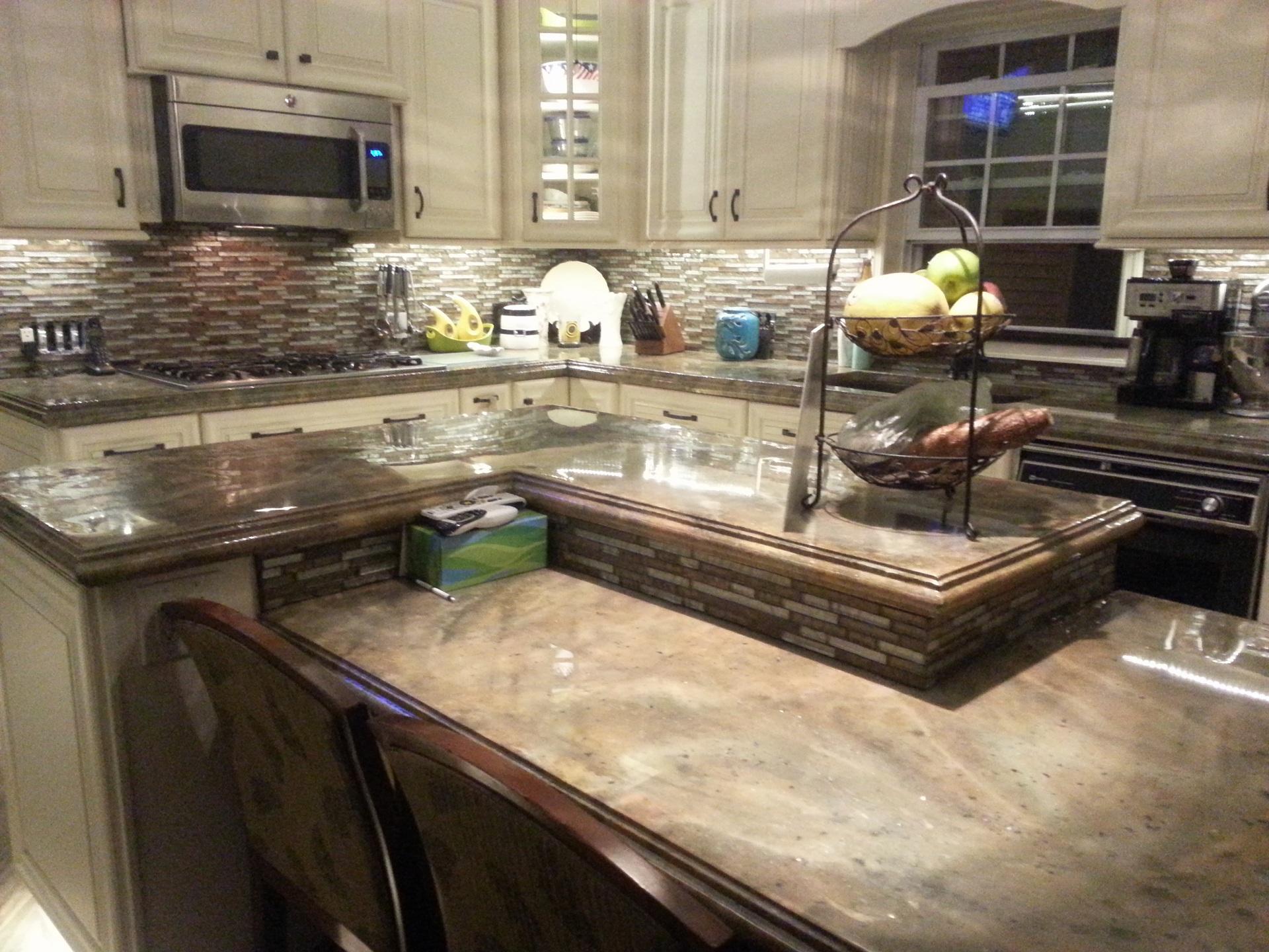 Decorative Concrete Countertops Directory Find